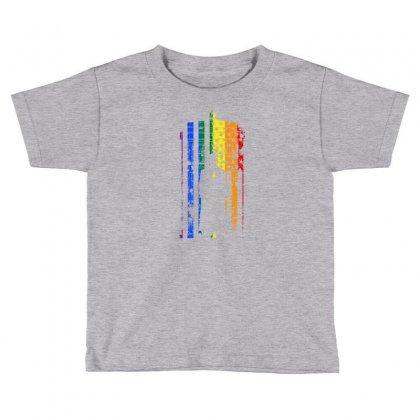 Rainbow Dr Who Tardis Toddler T-shirt Designed By Killakam