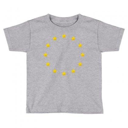 Euro Flag Stars Toddler T-shirt Designed By Sabriacar