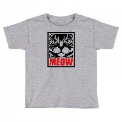 funny cat meow Toddler T-shirt   Artistshot