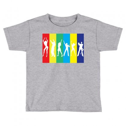 Rainbow Club Toddler T-shirt Designed By Designbysebastian