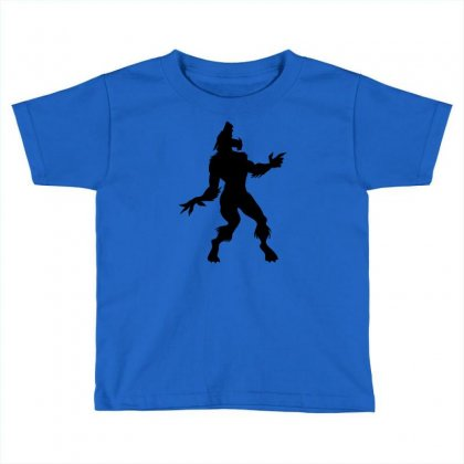 Werewolf Dancing Toddler T-shirt Designed By Gematees
