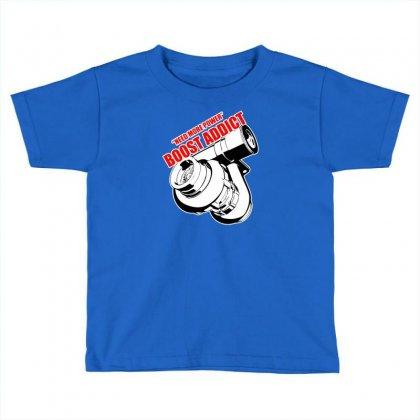 Boost Addic Toddler T-shirt Designed By Tonyhaddearts