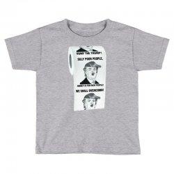 funny donald trump toilet paper Toddler T-shirt   Artistshot
