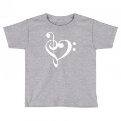 music heart rock baseball Toddler T-shirt | Artistshot