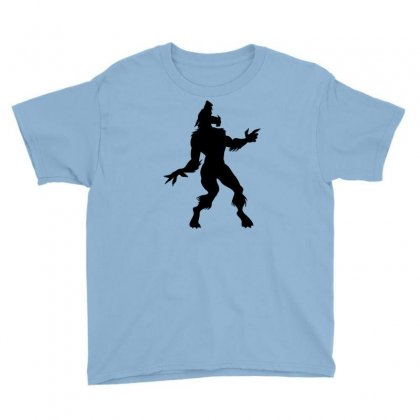 Werewolf Dancing Youth Tee Designed By Gematees