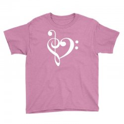 music heart rock baseball Youth Tee | Artistshot