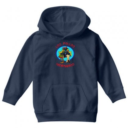 Los Pollos Hermanos Breaking Bad Youth Hoodie Designed By Gematees