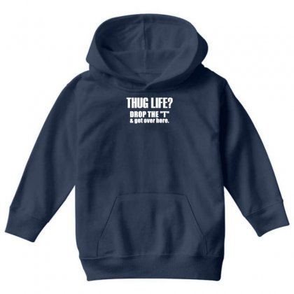 Thug Life Youth Hoodie Designed By Gematees