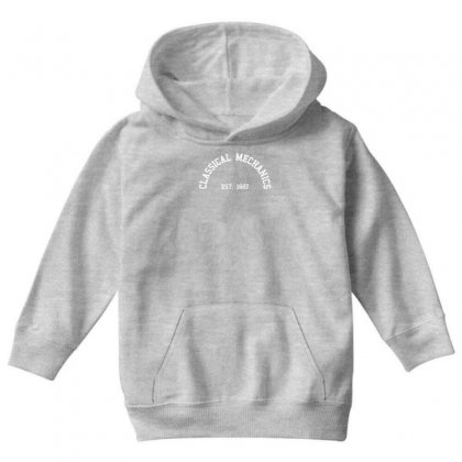Classical Mechanics   Est Youth Hoodie Designed By Gematees
