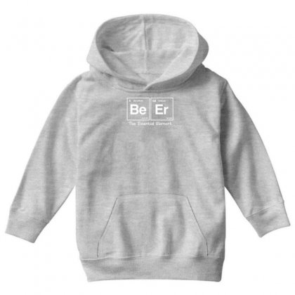Elements Of Beer Youth Hoodie Designed By Gematees
