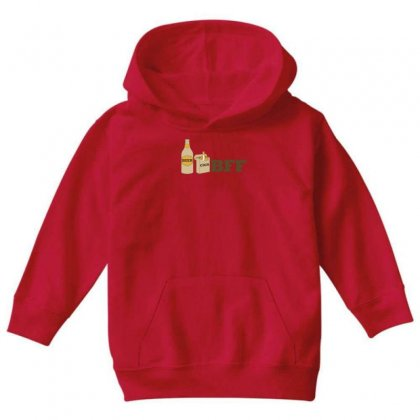 Beer And Cigs Best Friends Youth Hoodie Designed By Gematees