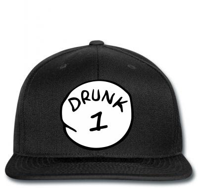 Drunk 1 Snapback Designed By Killakam