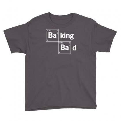 Baking Bad Funny Youth Tee Designed By Mdk Art