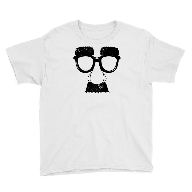 Comedy Fancy Dress Moustache Funny Youth Tee | Artistshot