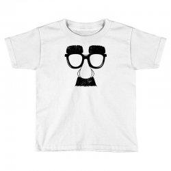 comedy fancy dress moustache funny Toddler T-shirt | Artistshot