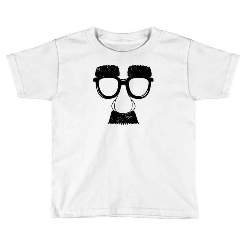 Comedy Fancy Dress Moustache Funny Toddler T-shirt   Artistshot