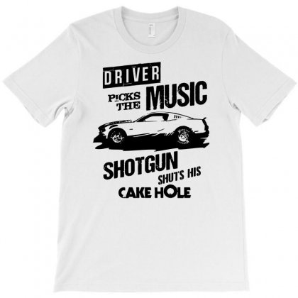 Driver Picks The Music T-shirt Designed By Mdk Art