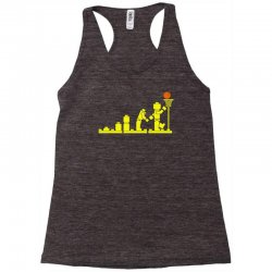 evolution lego basketball sports funny Racerback Tank | Artistshot