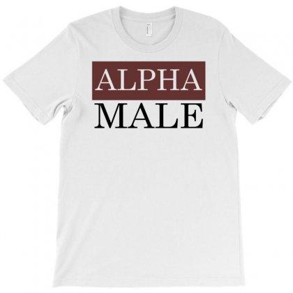 Funny Alpha Male T-shirt Designed By Mdk Art