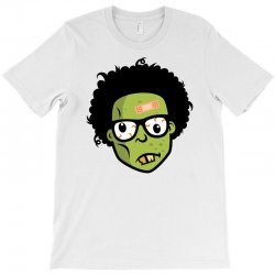 geek zombie head funny T-Shirt | Artistshot