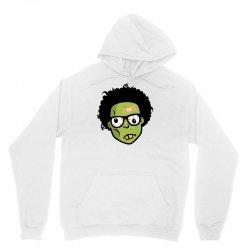 geek zombie head funny Unisex Hoodie | Artistshot