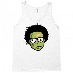 geek zombie head funny Tank Top | Artistshot