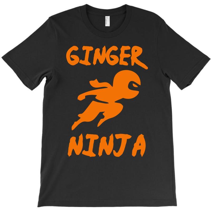 86528de0 Custom Ginger Ninja Funny T-shirt By Mdk Art - Artistshot