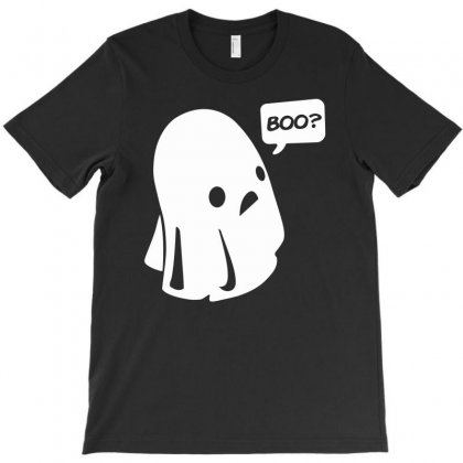 Halloween Boo Funny T-shirt Designed By Mdk Art
