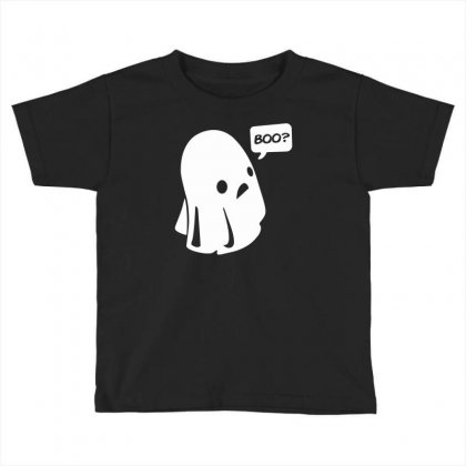 Halloween Boo Funny Toddler T-shirt Designed By Mdk Art