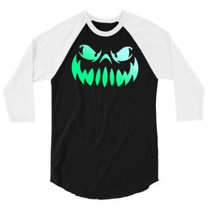Halloween Funny 3/4 Sleeve Shirt Designed By Mdk Art