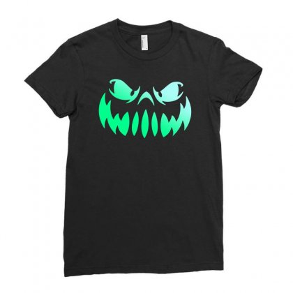 Halloween Funny Ladies Fitted T-shirt Designed By Mdk Art