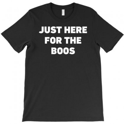 Halloween Just Here For The Boos Funny T-shirt Designed By Mdk Art