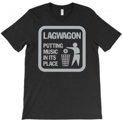 Lagwagon Putting Music T-shirt Designed By Mdk Art