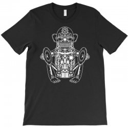musician monkey robot T-Shirt | Artistshot