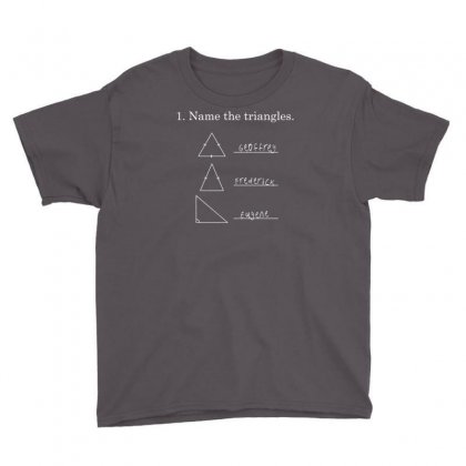 Name The Triangles Youth Tee Designed By Mdk Art