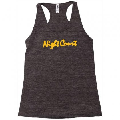 Night Court Racerback Tank Designed By Syahbudi90