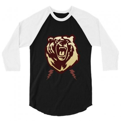 Bear 3/4 Sleeve Shirt Designed By Sefaarioglu