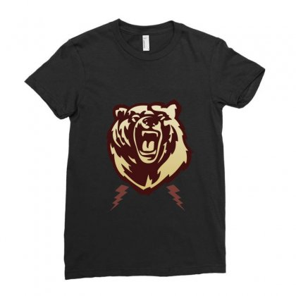 Bear Ladies Fitted T-shirt Designed By Sefaarioglu