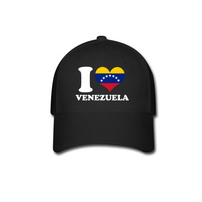 Custom I Love Venezuela Flag With Seven Stars Baseball Cap By Killakam -  Artistshot 5a9caa2102d4