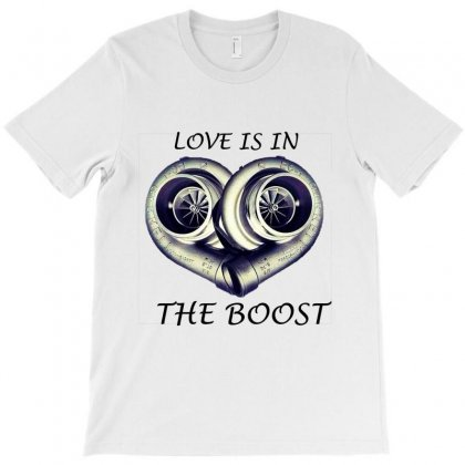 Car Lover's Heart T-shirt Designed By Sefaarioglu