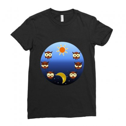 Casual Day Moods Ladies Fitted T-shirt Designed By Sefaarioglu