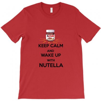Keep Calm Nutella T-shirt Designed By Sefaarioglu