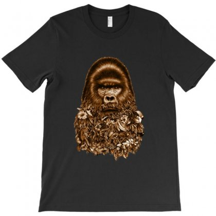 Gorilla T-shirt Designed By Sefaarioglu