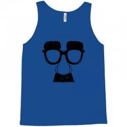 comedy fancy dress moustache funny Tank Top   Artistshot