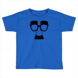 comedy fancy dress moustache funny Toddler T-shirt | Artistshot