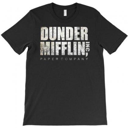 Dunder Mifflin Funny T-shirt Designed By Enjang