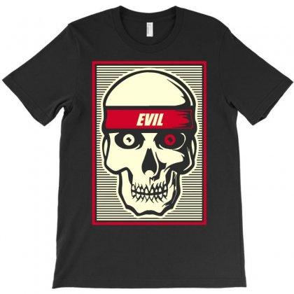 Evil T-shirt Designed By Enjang
