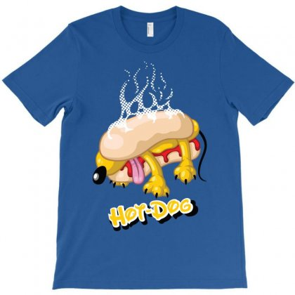 Hot Dog T-shirt Designed By Enjang