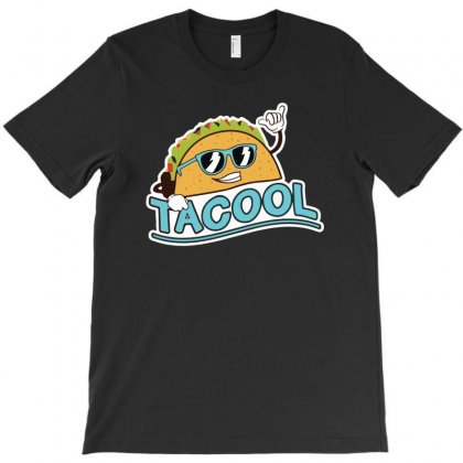 Taco Mexican Tacool Funny T-shirt Designed By Enjang