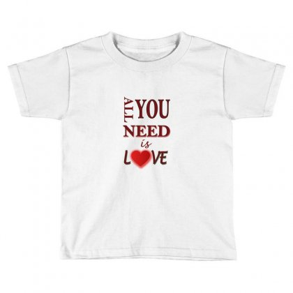 Love Toddler T-shirt Designed By Sefaarioglu